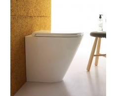 Globo Forty3 Stand-Tiefspül-WC, B: 360, T: 520, H: 430 mm, FO002.BI, weiss FO002.BI