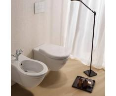 Globo Paestum Wand-WC T:57, B:38, H:35cm, PAS03BI, weiss glänzend PAS03BI