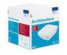 Villeroy & Boch Wand-WC Combi-Pack Architectura, DirectFlush, 5685HR01, Weiß Alpin 5685HR01